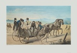 The Outing Collectable Print by Leopold Kupelwieser