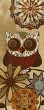 Owls Wisdom II Schilderij van Katrina Craven