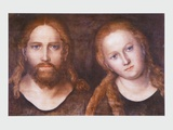 Christ and Mary , 1516–20 Prints by Lucas Cranach the Elder