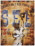 Believing Is Seeing Giclée-tryk af Rodney White