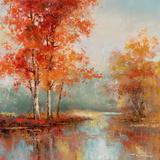Autumn's Grace I Kunstdrucke von T. C. Chiu
