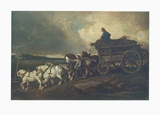 The Coal Carriage Collectable Print by Théodore Géricault