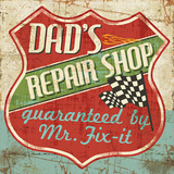 Mancave IV (Dad's Repair Shop) Posters by Pela