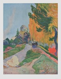 Les Alyscamps, Arles Collectable Print by Paul Gauguin