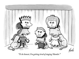 """""""To be honest, I'm getting tired of staging 'Hamlet.'""""  - New Yorker Cartoon Premium Giclee Print by Tom Toro"""