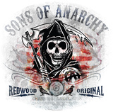 Redwood Original Sons of Anarchy WallJammer Decalque em parede