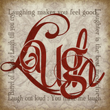 Laugh & Other Sentiments Poster von Lisa Wolk