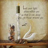 Let Your Light Shine Art by Jo Moulton