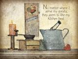 My Kitchen Prints by Jo Moulton