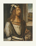 Self-Portrait 1498 Collectable Print by Albert Duerer