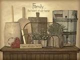 Family Heart Posters by Jo Moulton