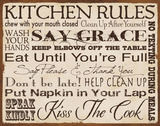 Kitchen Rules Art by Stephanie Marrott