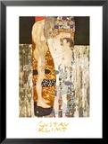 Las tres edades de la mujer, ca.1905 Láminas por Gustav Klimt