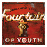 Fountain Of Youth Giclee Print by Rodney White