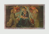 Virgin and Child - Adoration Collectable Print by  Gozzoli