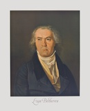 Portrait of Beethoven Collectable Print by Ferdinand Georg Waldmüller