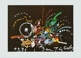 Untitled , 1989 Print by Jean Tinguely