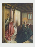 The Annunciation Collectable Print by Konrad Witz