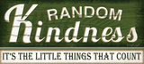 Random Kindness Prints by Jennifer Pugh
