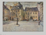 Jewish Courtyard - Berlin Collectable Print by Otto Nagel