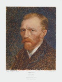 Self Portrait Samlertryk af Vincent van Gogh