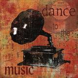 Dance to the Music Poster von Carol Robinson