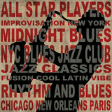 Jazz II Poster by Luke Wilson