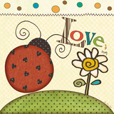 The Love Bug Láminas por Jo Moulton