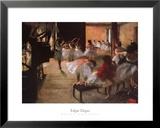 Ballettprobe Kunstdruck von Edgar Degas