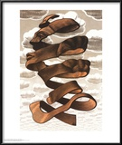 Rind Prints by M. C. Escher
