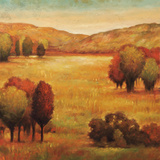 Hillside Meadow II Prints by Jeffrey Leonard