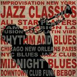 Jazz I Schilderijen van Luke Wilson