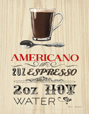 Americano Posters by Marco Fabiano