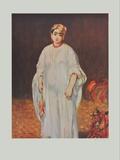 La Sultane Collectable Print by Édouard Manet