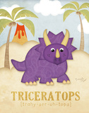 Tric&#233;ratops Posters par Jennifer Pugh
