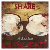 Rodney White - Share A Random Moment Digitálně vytištěná reprodukce
