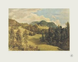 Landscape near Miesenbach Collectable Print by Friedrich Gauermann