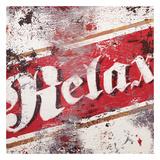Slap af Giclée-tryk af Rodney White