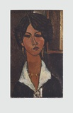 Woman of Algeria Collectable Print by Amedeo Modigliani
