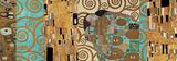 Fulfillment (Reinterpreted) Poster par Gustav Klimt