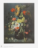 Flowers and Shells Collectable Print by Maria Oosterwyck