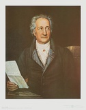 Goethe Print by Joseph Karl Stieler