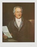 Goethe Prints by Joseph Stieler