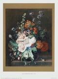 Flowers II Collectable Print by Jan Huysum