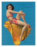 O Kay, Pin Up Girl c.1937 Giclee Print by Rolf Armstrong