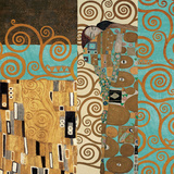 Fulfillment (Reinterpreted) Posters by Gustav Klimt