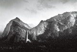 Sun and Snow (Bridalveil Fall) Prints by Bob Kolbrener