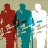 Guitarists Poster by Stella Bradley
