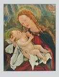 Madonna (fom the Isenheim Altar) Collectable Print by Matthias Gruenewald