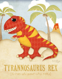 Tyrannosaurus Rex Prints by Jennifer Pugh